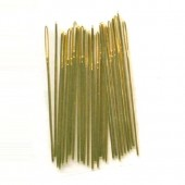 Embroidery/Crewel Needles - Size 7 Gold Plated (Pack of 10)