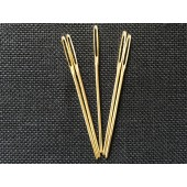 Gold Plated Tapestry Needles - Size 20 (Pack of 5)
