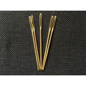 Gold Plated Tapestry Needles - Size 22 (Pack of 5)