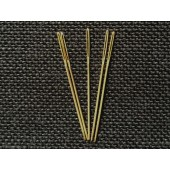 Gold Plated Tapestry Needles - Size 26 (Pack of 5)