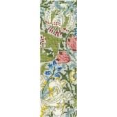 BL1173/77 - V & A J H Dearle - Golden Lily Cross Stitch Bookmark Kit