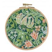 BL1176/77 - V & A J H Dearle - Golden Lily Cross Stitch Kit