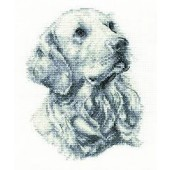 BK1685 - Golden Retriever Cross Stitch Kit