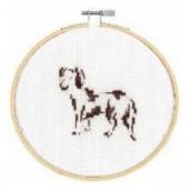 BK1885 - Happy Dachshund Cross Stitch Kit