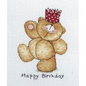 Anchor FRC220 Forever Friends Happy Birthday Cross Stitch Kit