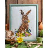 Cross Stitcher Project Pack - Hoppy Easter - XST355