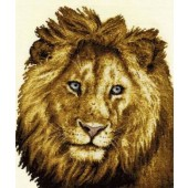BK1187 - Heart of a Lion Cross Stitch Kit