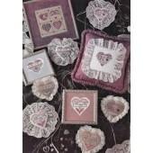 Mill Hill Hearts-a-Plenty Cross Stitch Chart