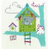 BL1125/72 - Me to You Tiny Tatty Teddy Home Tweet Home Cross Stitch Kit