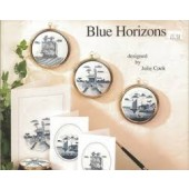 Framecraft Blue Horizons by Julie Cook Cross Stitch Chart Leaflet