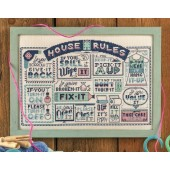 Cross Stitcher Project Pack - House Rules XST347