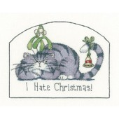 CRHT1287 - Heritage Cats Rule - I Hate Christmas