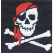 CK041 - Jolly Roger Gobelin Printed Tapestry Starter Kit