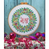 Cross Stitcher Project Pack - Christmas Wreath XST337