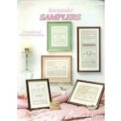 Leisure Arts Keepsake Samplers Cross Stitch Chart Booklet