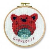 DMC Me to You Kitten Beanie Cross Stitch Kit - BK1161/72
