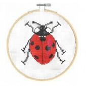 BK 1891 - DMC Ladybird Cross Stitch Kit