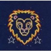 DMC Leo Cross Stitch Kit BK1866