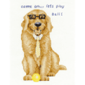 BK 1575 - Golden Retriever Cross Stitch Kit