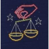 DMC Libra Cross Stitch Kit BK1868