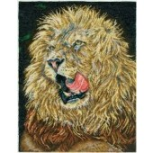 BK1126 - Lion Lunch Cross Stitch Kit
