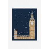 BK1723 - Glow in the Dark - London Cross Stitch Kit