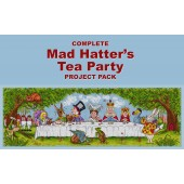 Cross Stitcher Project Pack - Mad Hatter - XST370 - 372