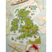 Cross Stitcher Project Pack - British Isles Map XST345 & XST346