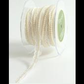 MA384-58-01 - 5/8in White Lace & Pearl Trim