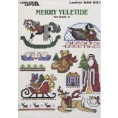 Leisure Arts Merry Yuletide Cross Stitch Chart Leaflet