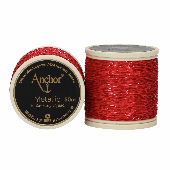 Anchor Metallic Thread - 318 - Red