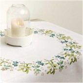 Rico Mistletoe Tablecloth Embroidery Kit