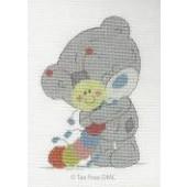 BL1127/72 - Me to You Tiny Tatty Teddy My Friend Mr Caterpillar Cross Stitch Kit