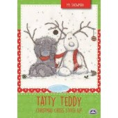 BL1098/72 - Me to You Tatty Teddy My Snowman Cross Stitch Kit