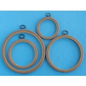 Woodgrain Flexi Hoops