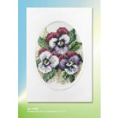 Orchidea Card kit - Large Pansy