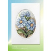 Orchidea Card kit - Blue Flower