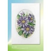 Orchidea Card kit - Dahlias