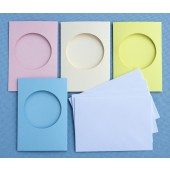 Aperture Card 4 Pack  Choose Your Shape