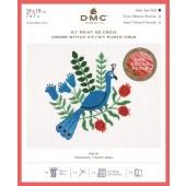DMC Peacock Cross Stitch Kit - BK1780