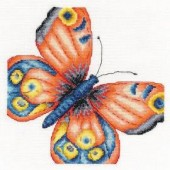 DMC Kit Peacock Butterfly - BK1538