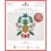 DMC Pineapple Cross Stitch Kit - BK1782