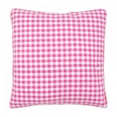 Vervaco Cushion Back - Pink/White 12 x 12in