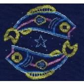 DMC Pisces Cross Stitch Kit BK1861