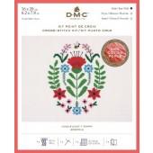 DMC Poppy Cross Stitch Kit - BK1783
