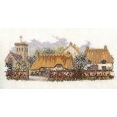 LAN01 - The Lanes Series - Poppyfield Lane Cross Stitch Kit