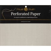 PP1 - Mill Hill White Perforated Paper