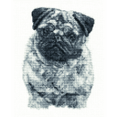 BK1696 - Pug Cross Stitch Kit