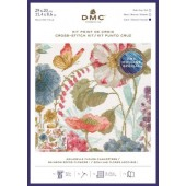 DMC Rainbow Seeds Flowers Cross Stitch Kit - BL1166