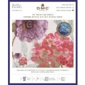 DMC Rainbow Seeds Flowers V Cross Stitch Kit - BL1168